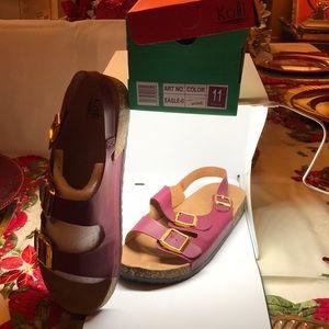Kalli Wine Sandal NIB